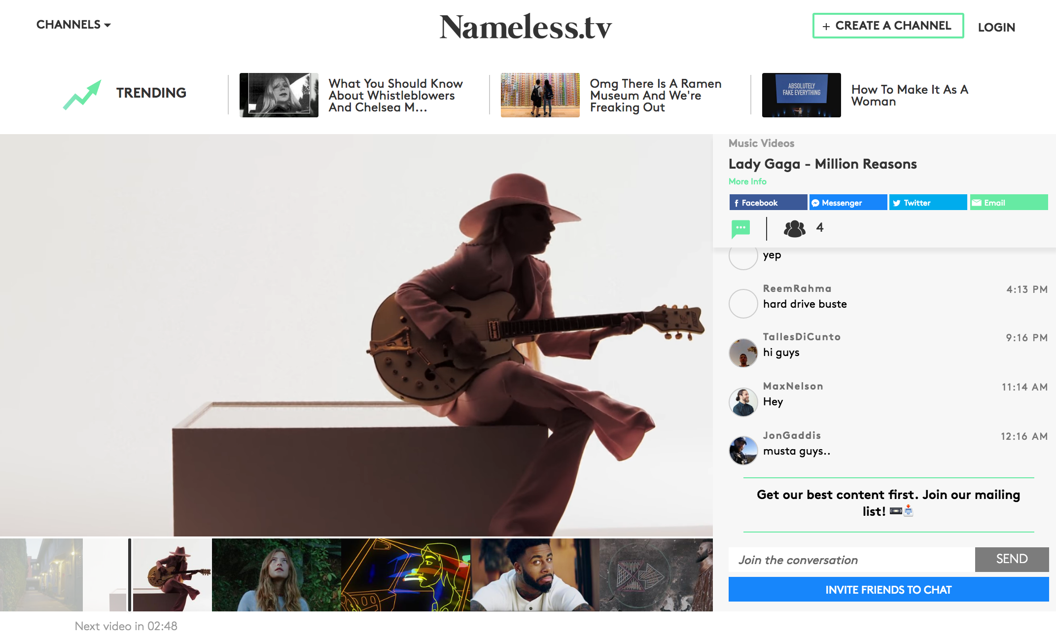 Nameless.tv